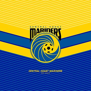 Central Coast Mariners FC | est 1899 | Logo Design - Pillow | Phone Case | Tablet | T Shirt | Duvet | Mug | Clock | Poster | Home Decor and more by footballicon67