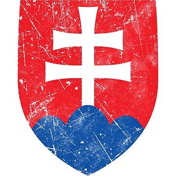 Slovakia Flag Roundel by quark