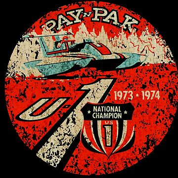 Pay N Pak vintage Hydroplane U1 usa by midcenturydave