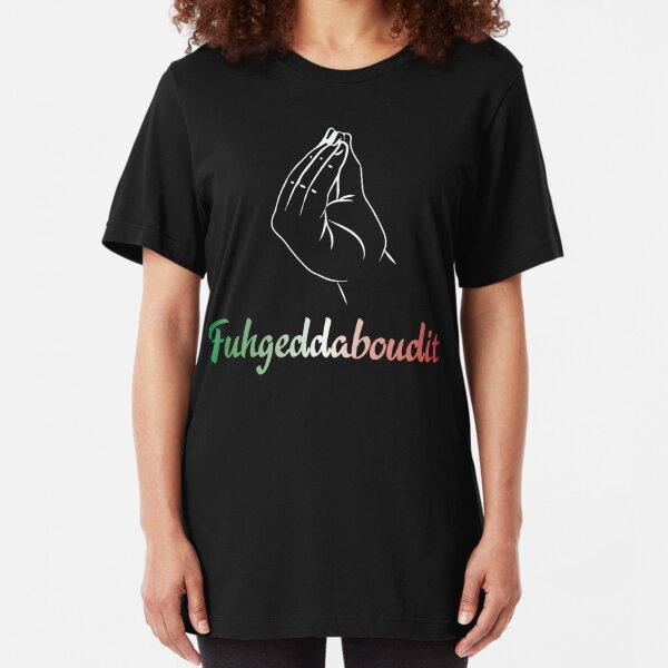 Fuhgeddaboudit | Italian Pride Slim Fit T-Shirt