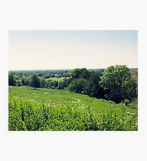 Beautiful English Countryside  Photographic Print