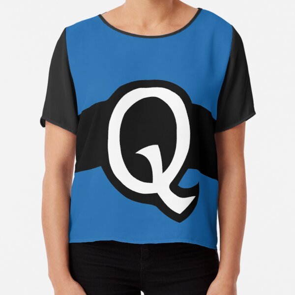 Q Belt Chiffon Top