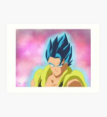 Gogeta Blue Impression artistique