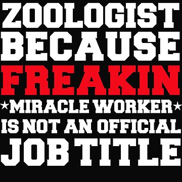 Zoologist because Miracle Worker not a job title by losttribe