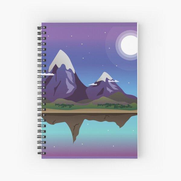 Vector Island Spiral Notebook