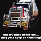 Old truckies never die by JuliaKHarwood