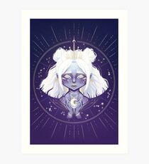 Lunar Guardian Art Print