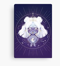 Lunar Guardian Canvas Print