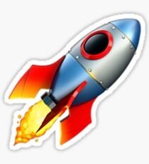 Rocket Emoji  Sticker