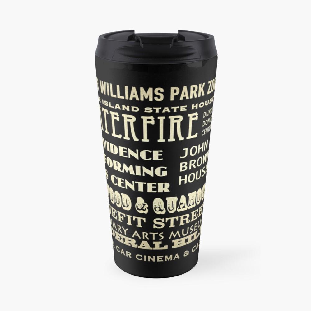 Providence Rhode Island Famous Landmarks Travel Mug
