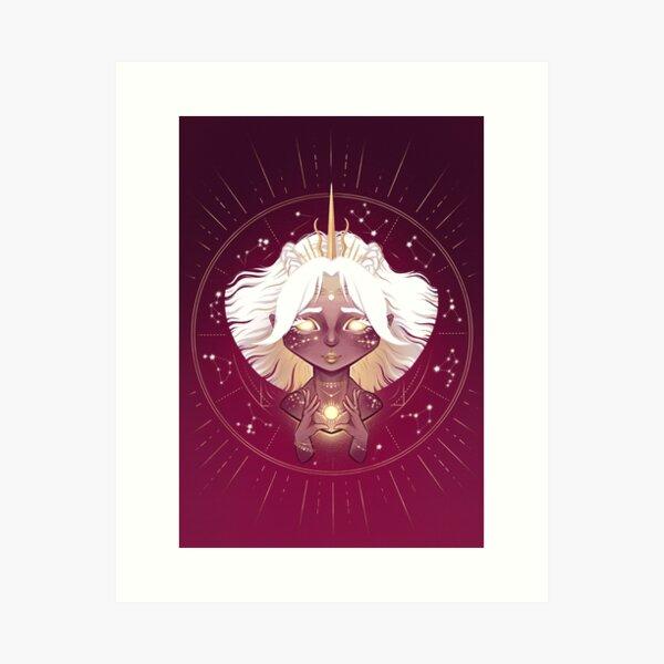 Solar Guardian Art Print