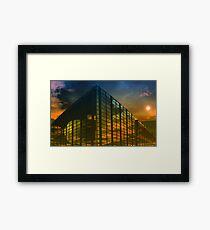 Caged World Framed Print