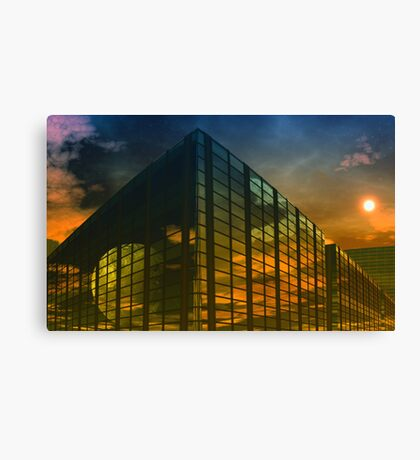 Caged World Canvas Print