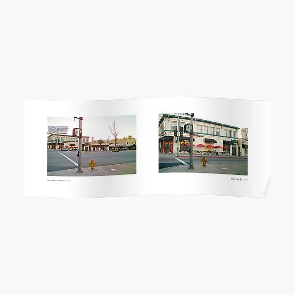 Eagle Rock Boulevard + Colorado Boulevard, Eagle Rock (I), California, USA...narrowed. Poster