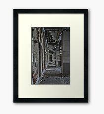 Urban exploration Framed Print