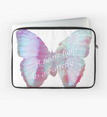 A heart as a butterfly  Laptop Sleeve