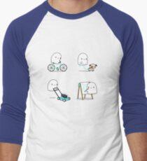 Paranormal activities Men's Baseball ¾ T-Shirt