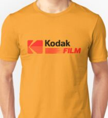 Weinlesefotografie: Kodak Film Slim Fit T-Shirt
