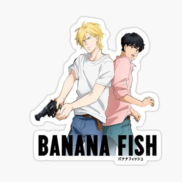 Art de poisson banane Sticker