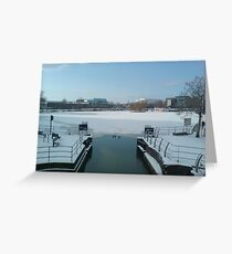 The Brayford Pool Greeting Card