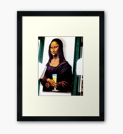 Now We Know... Framed Print