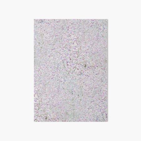 Leaf Pebbles Art Board Print