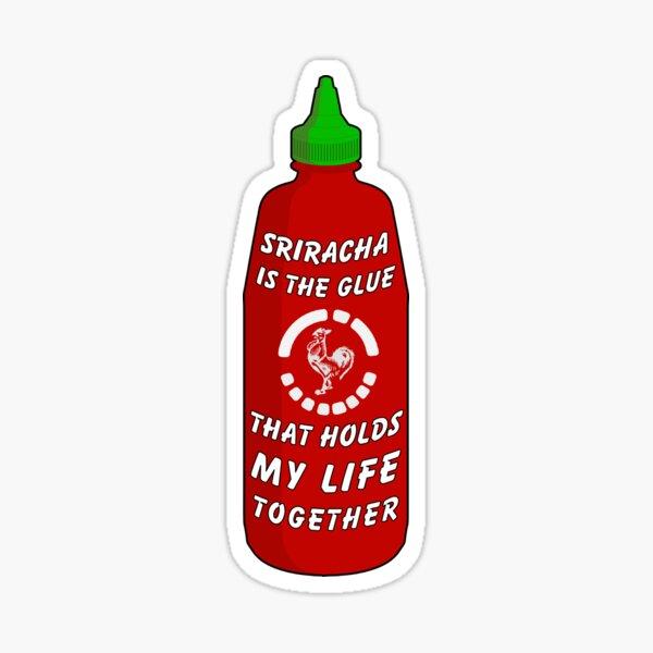Sriracha Sticker