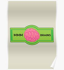 MMM Brains Poster