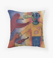 Siddhartha's Journey Into The Netherworld Throw Pillow