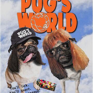 Pug's World by darklordpug