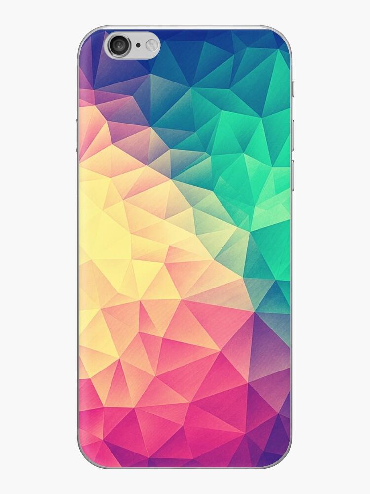 «Polígono abstracto Color multicolor Cubismo Low Poly Triángulo diseño» de badbugs