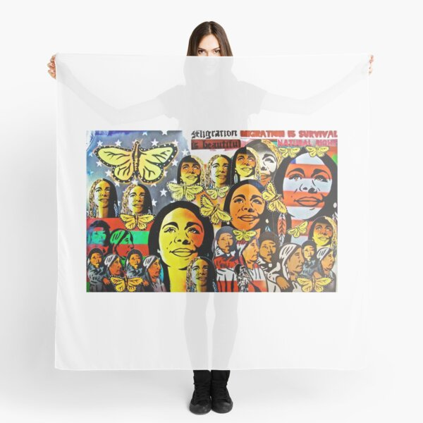 Portraits of American migration series Scarf