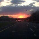 Parkway Sunset by blaze101
