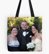 Anne, Brett and Kelly Tote Bag