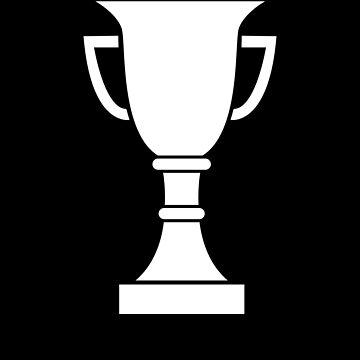 White Trophy Winner champion tshirt by we1000
