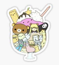 A Weakness for Sweetness Sticker