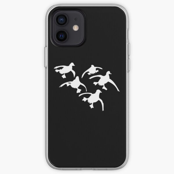 Flying Ducks Landing Hunting iPhone Soft Case