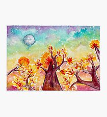 Astral Forest Photographic Print
