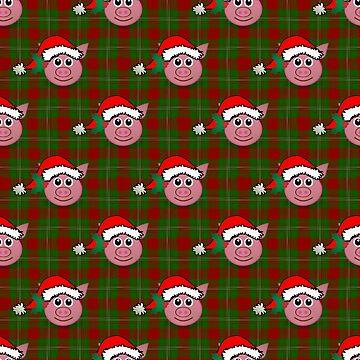 christmas pig by gossiprag