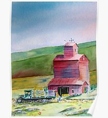 Hay Barn - Everyday Heroes  Poster