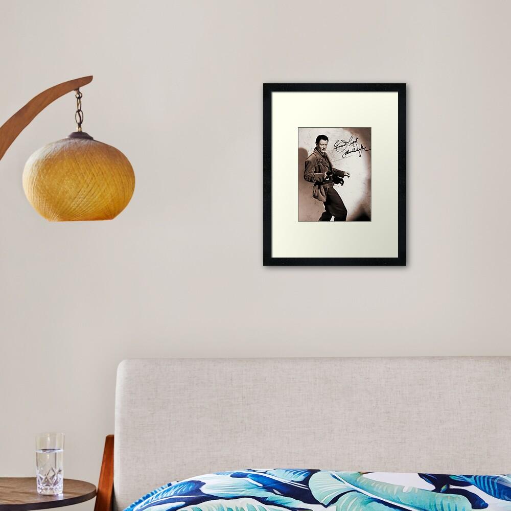 John Wayne Framed Art Print