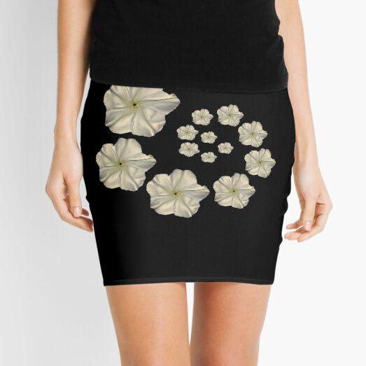 Moonflower Spiral Mini Skirt