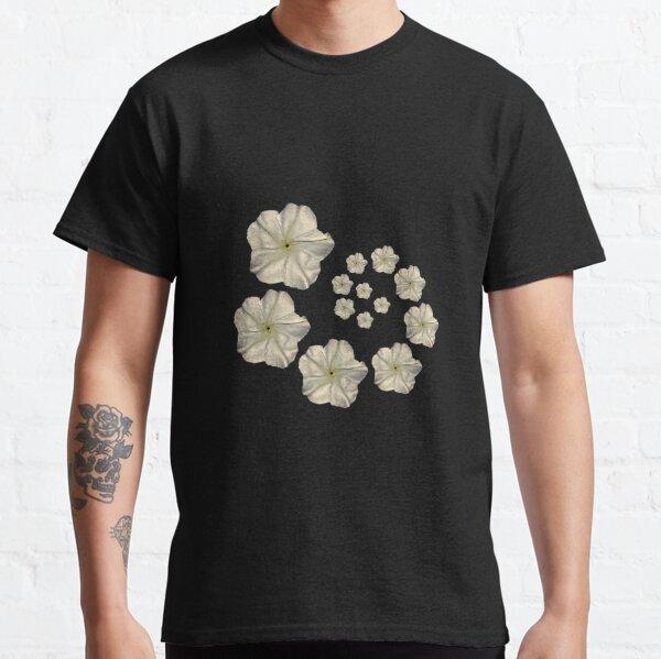 Moonflower Spiral Classic T-Shirt