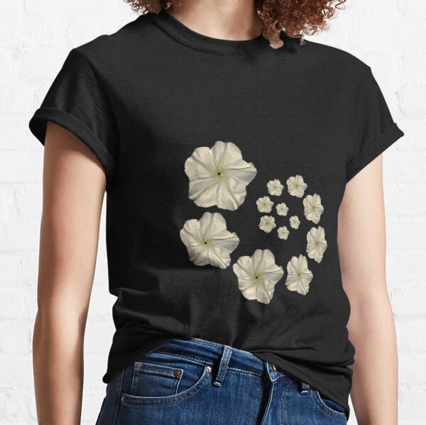 Moonflower Spiral Classic T-Shirt