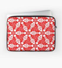 Red Design 3 Laptop Sleeve