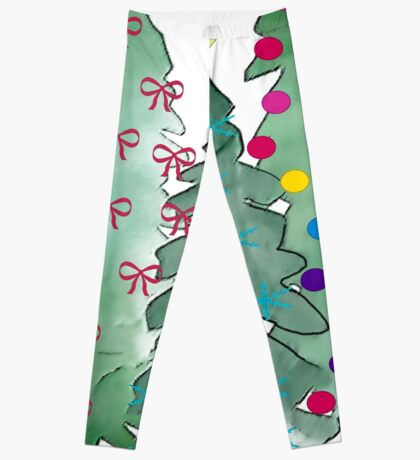 Christmas Trees 2018 Leggings
