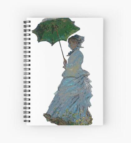 Mme. Monet Spiral Notebook