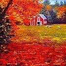 New England Sheep Barn by sesillie