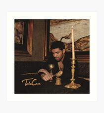 Drake Take Care Album Art Print