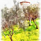 Laureana Cilento: country house by Giuseppe Cocco